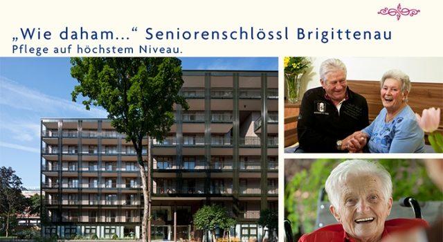 """""""Wie daham…"""" Seniorenschlössl Brigittenau"""