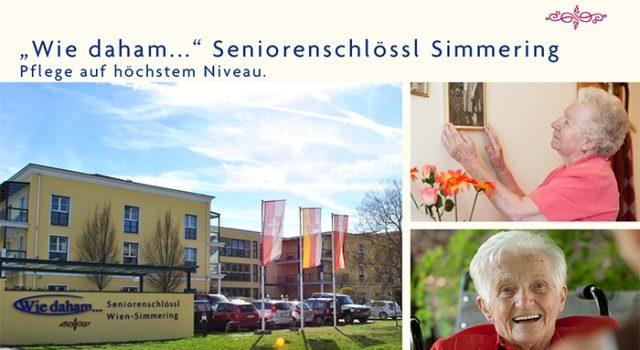 """""""Wie daham…"""" Seniorenschlössl Simmering"""