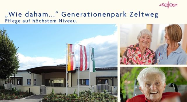 """Wie daham""… Generationenpark Zeltweg"